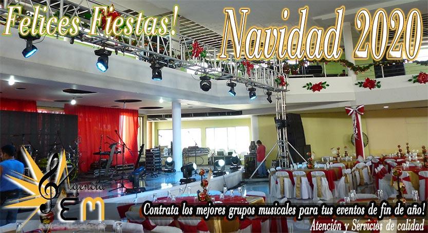 Grupos musicales para fiestas de navidad